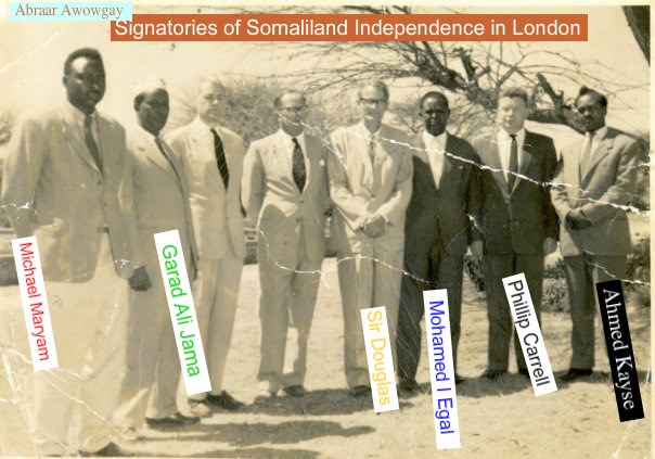 Somaliland´s 26th June 1960, 86 years of protectorate comes to end