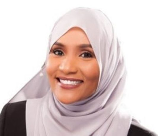 Hodan Nalayeh, a Somali-Canadian journalist killed in Somalia extremist attack.