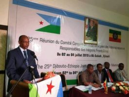 Ethio-Djibouti Joint Border Administration meeting Opens in Ali-Sabieh
