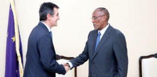 Somaliland President receives EU Ambassador to Somalia