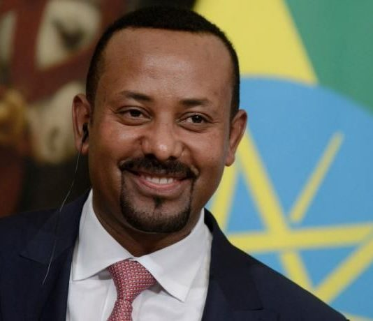 Ethiopian Prime Minister Abiy Ahmed.