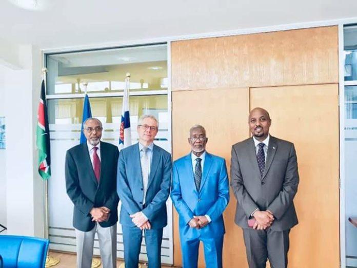 Somaliland ambassador in Kenya Bashe Omar