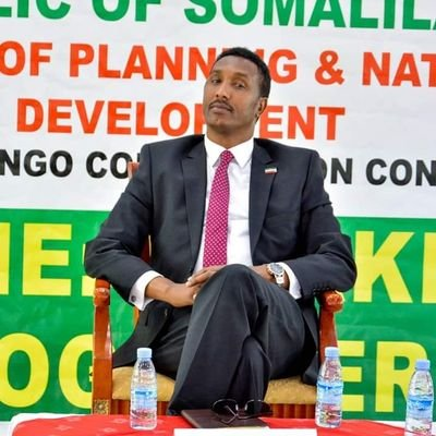 Awale.I. Shirwa(Somalilands' Former Minister of Planning and Development).