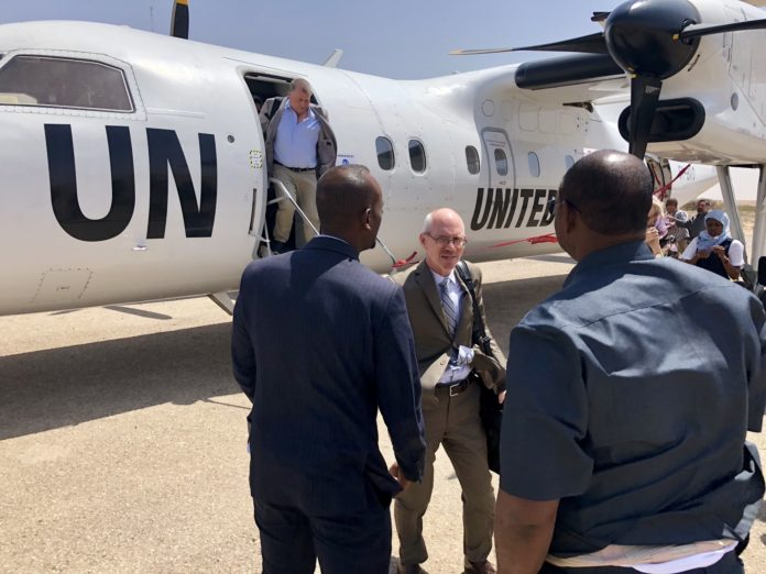 UN Envoy Arrives in Hargeisa for His First Visit to Somaliland