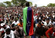 The Sidama, the largest ethnic group in the southern region, have been calling for their own semi-autonomous state [Tiksa Negeri/Reuters]