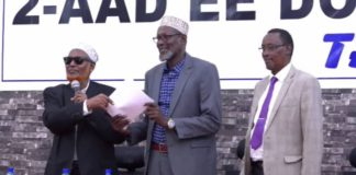Somalia:Jubbaland Parliament Elects new speaker