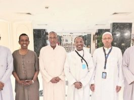 Twitter users react to Somaliland President meeting with Somalia Ministers