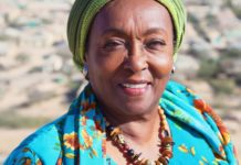 Former first lady of the self-declared republic of Somaliland and midwife Edna Adan Ismail