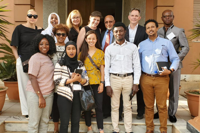 Students at the Ministry of Investment and Promotion in Eritrea. Photo by Gbenga DeSilva.