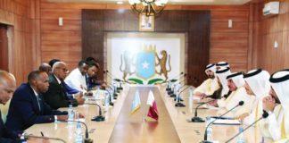 Qatar FM meets Somali Prime Minister