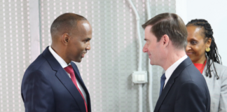 Under Secretary for Political Affairs David Hale Meets with Somali PM