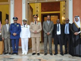 Eritrean President Receives senior Saudi delegation