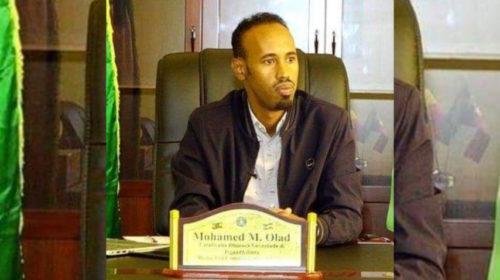 Mohamed Olad, Media and Communications Advisor to Somali state president Mustafa Omer