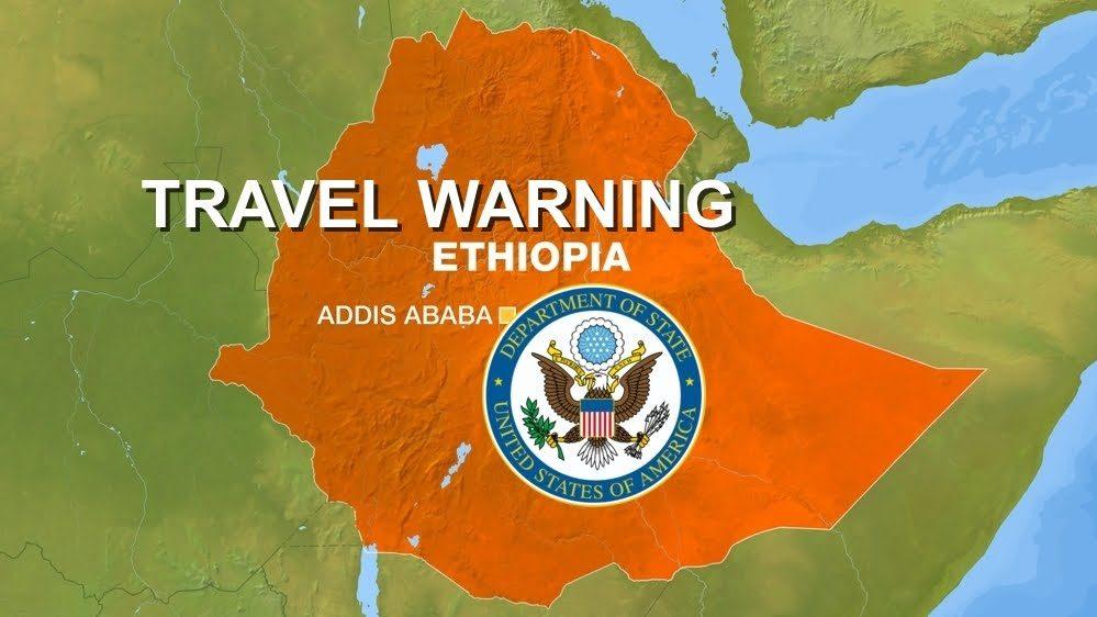 U.S State Department revised it is Ethiopia travel advisory