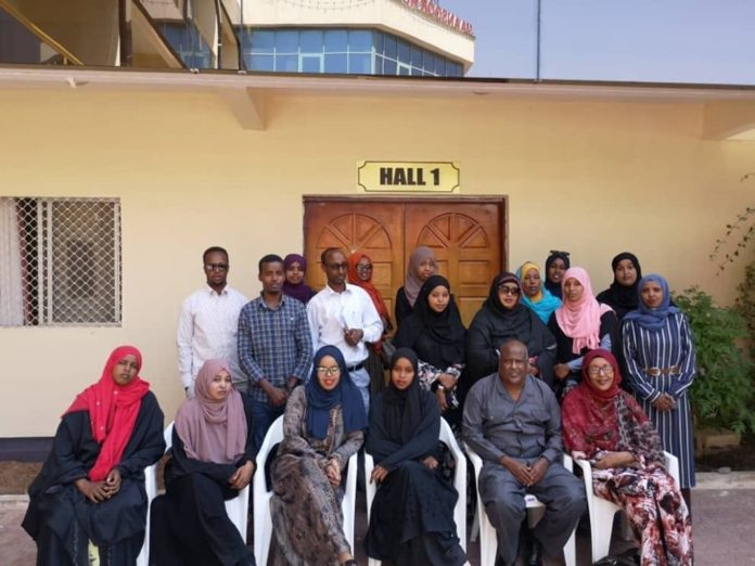 ISCO Somaliland members sign a governing document