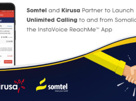 Somtel and Kirusa Partner to Launch Unlimited Calling to and from Somalia