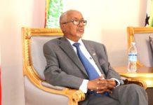 Somaliland Vice president Abdirahman Abdilahi Ismail