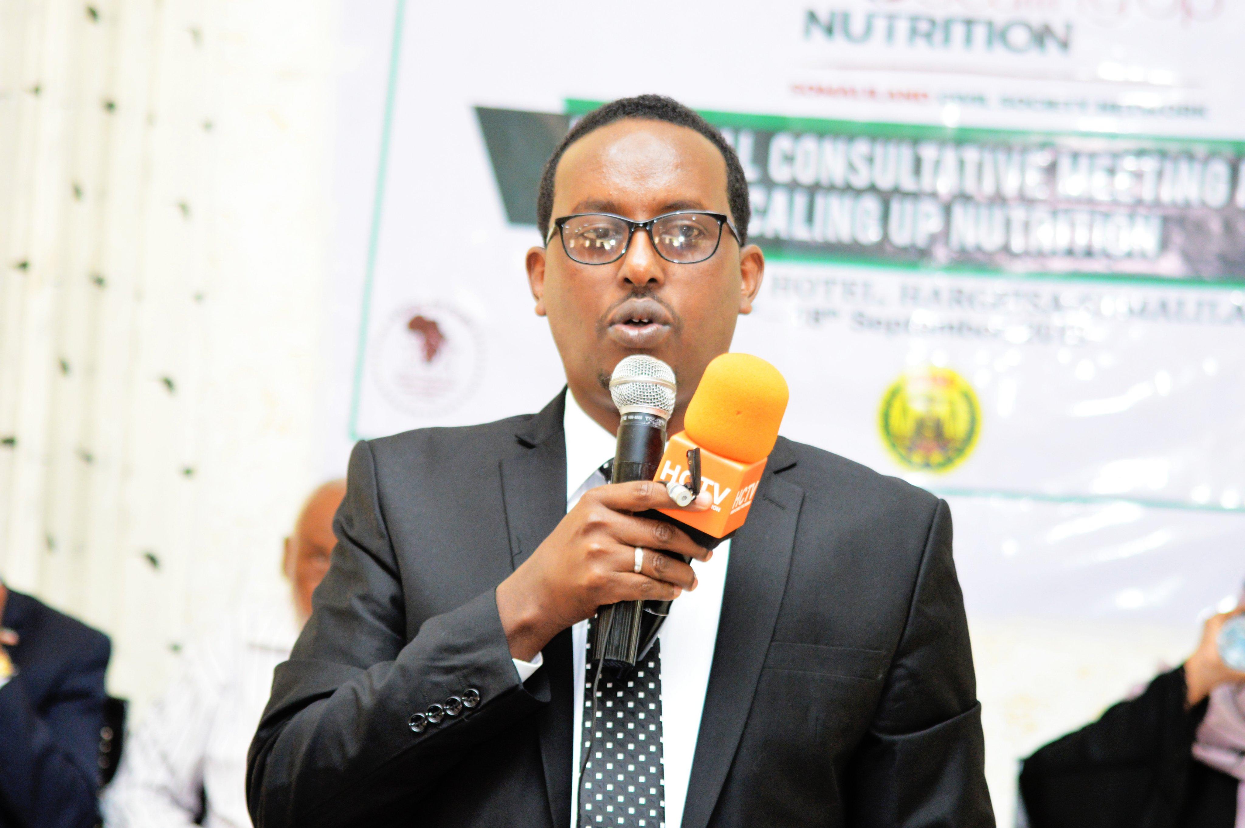 Somaliland Minister of Health Development Omer Ali abdilahi