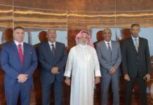 Somaliland Vice President Meets Kuwait emir's son Sheikh Hamad Sabah
