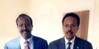 President Farmaajo honours a war criminal