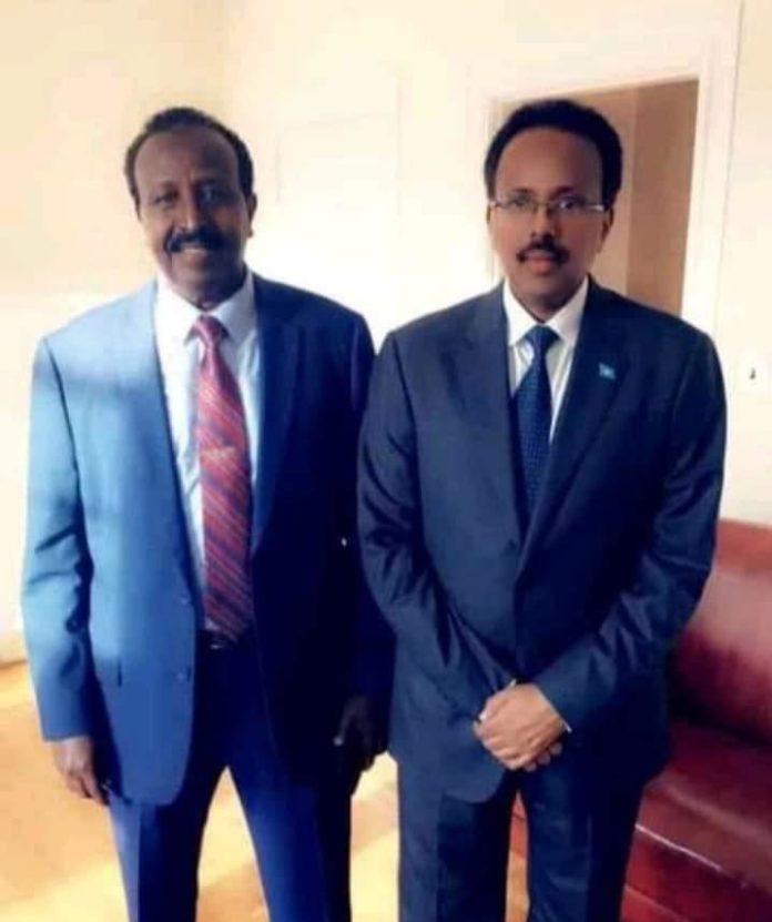 President Farmaajo honours a war criminal
