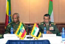 Ethiopia, UAE advancing military cooperation
