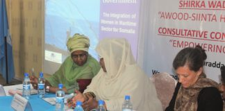 Somali women want bigger roles in the maritime sector