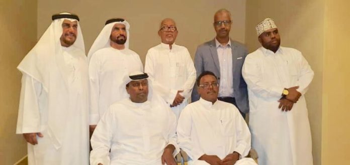 Somaliland Vice President meets potential Gulf countries investors