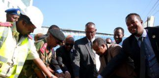 Somaliland President Lays Foundation Stone National Museum