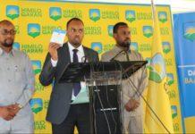 Breaking: Former Somalia President party Himilo Qaran sues FGS