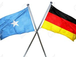 Somalia and Germany Flag