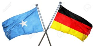Somalia and Germany Flag