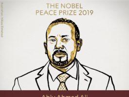 Ethiopia's PM Dr Abiy Wins 2019 Nobel Peace Prize