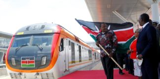 Kenya opens $1.5 billion Chinese-built railway linking Rift Valley town and Nairobi