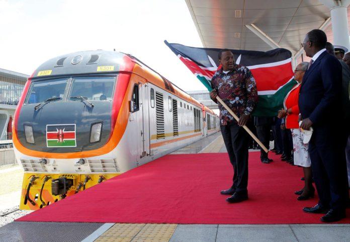 Kenya opens $1.5 billion Chinese-built railway linking Rift Valley town and Nairobi