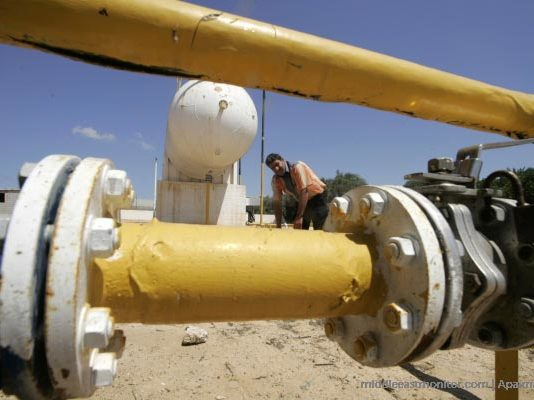 File photo of a gas pipeline