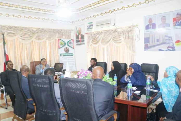 Somaliland: Sonsaf meets with speakers of the house of representatives
