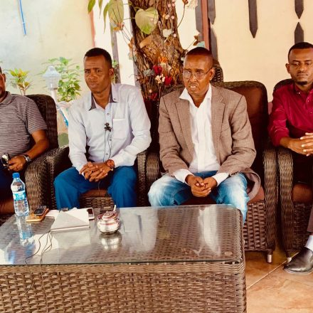 Moalimuu and Journalists flees from Somaliland