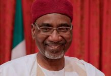 Nigeria's Chief of Intelligence Ahmed Rufai Abubakar on Tuesday arrived in Mogadishu