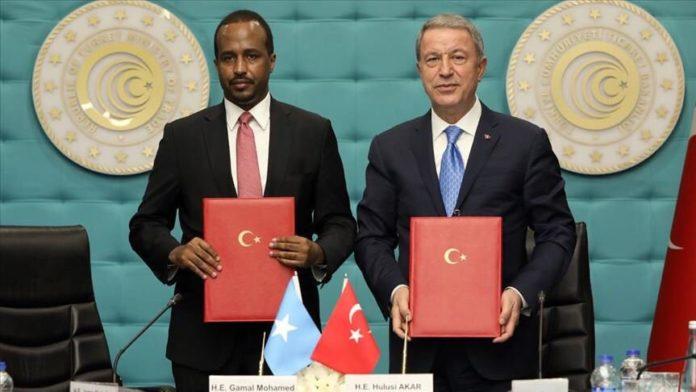 Turkey and Somalia signed an Economic Partnership Protocol yesterday in Ankara.