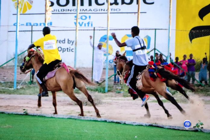 Somaliland Host the first Horse Racing in Horn of Africa