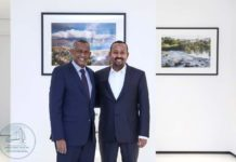 Ethiopian PM meets the outgoing Executive Secretary of IGAD