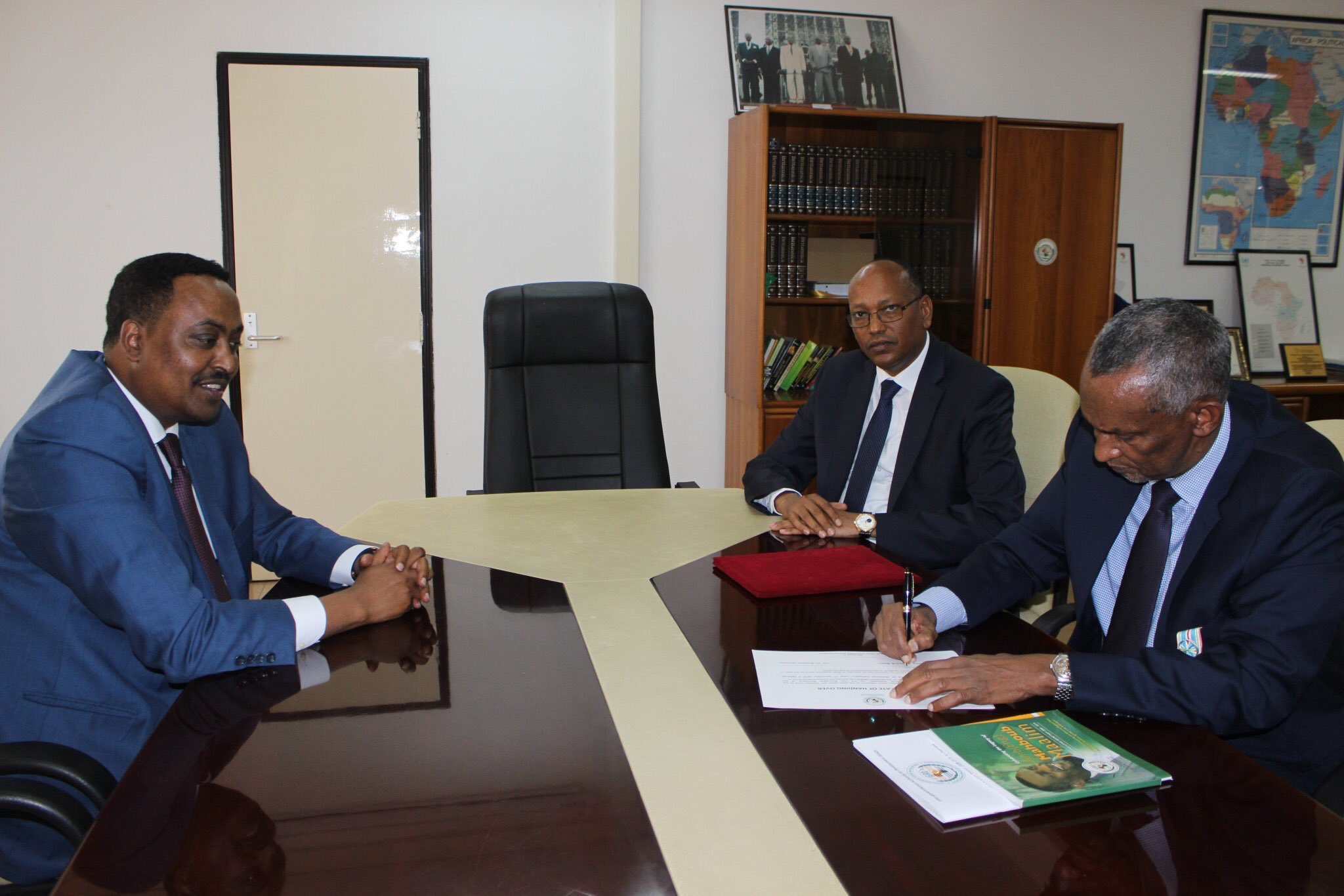 New Executive Secretary of IGAD formally assumes office