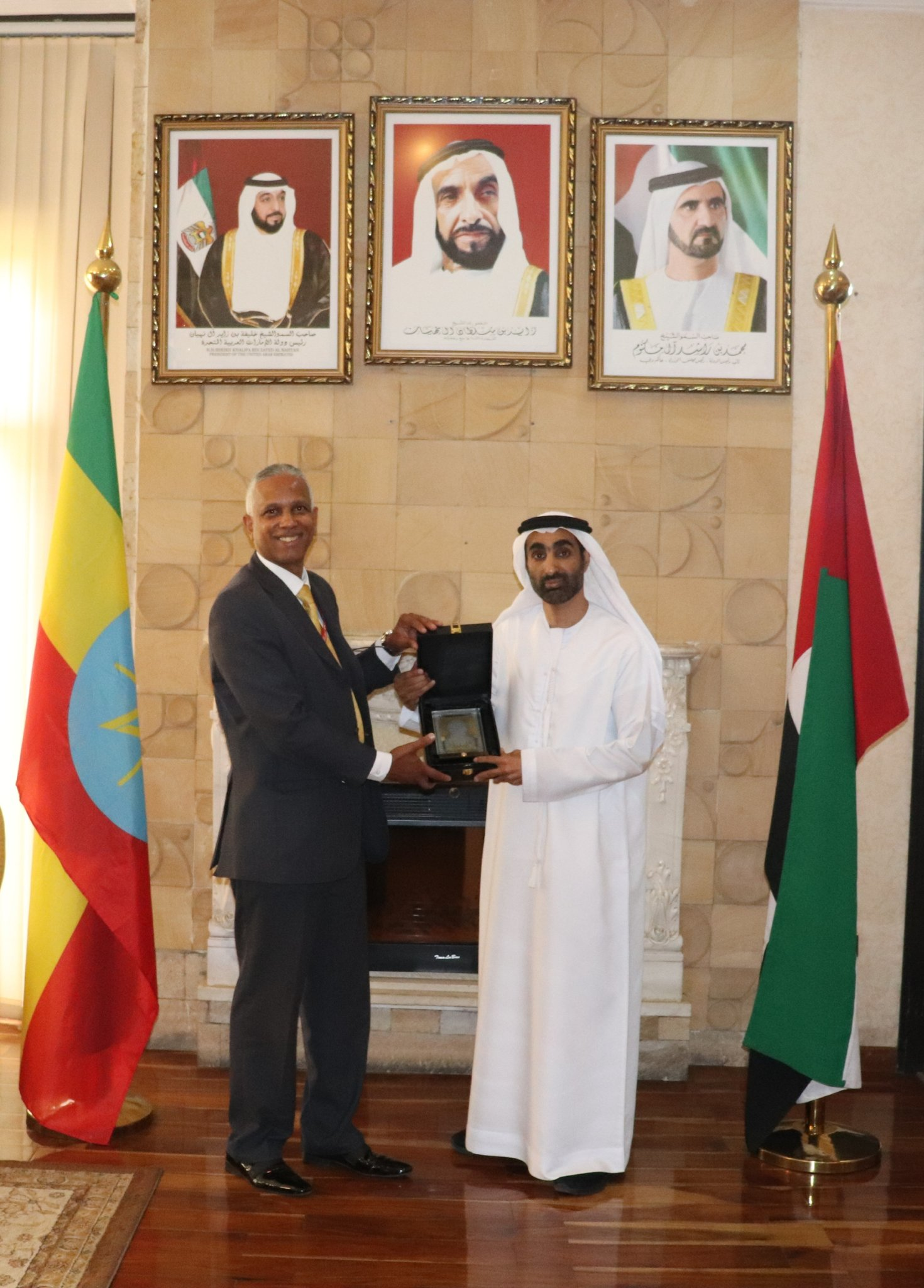 Somaliland, UAE envoys discuss matters of mutual interest