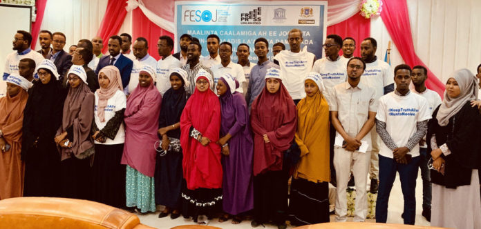 Somalia:FESOJ joins the world in commemorating the International Day to end impunity for crimes against journalists