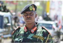 Brigadier-General Mohamed Adan Sanqadhi Mohamoud 'Dabagale', the new chief of Somaliland police forces