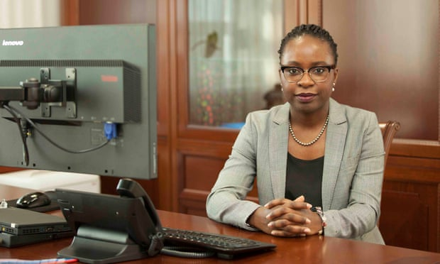 Vera Daves de Sousa, 34, is finance minister in Angola, where politics was previously dominated by elderly men, many of them veterans of the long civil war. Photograph: Courtesy of Angola Ministry of Finance