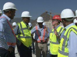 Ethiopian Electric Power Board Members Visit GERD Project