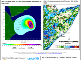 UN issues alert on tropical storm to hit Somaliland and Puntland