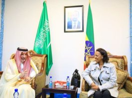 50-Strong Saudi Arabian Delegation Arrives in Addis